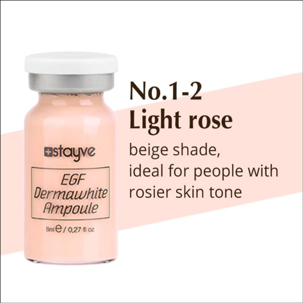 BB Glow Ampoule light rose 1-2 - stayve