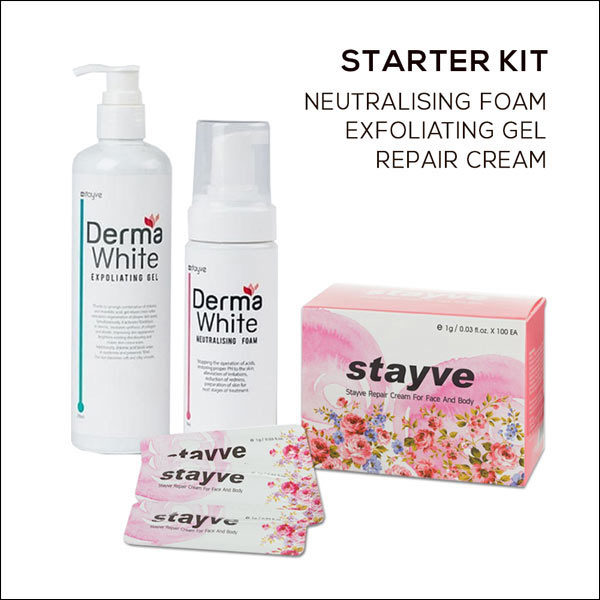 Stayve Dermawhite foam gel cream