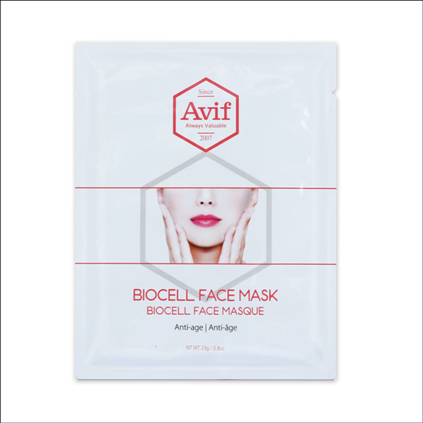 Avif biocell face mask