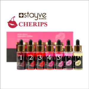 Stayve Cherips Lip Ampoules Set for Micro-needling