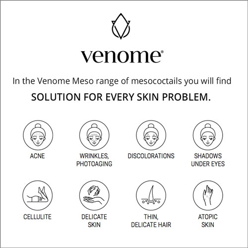 venome meso skincare solution for all skin types