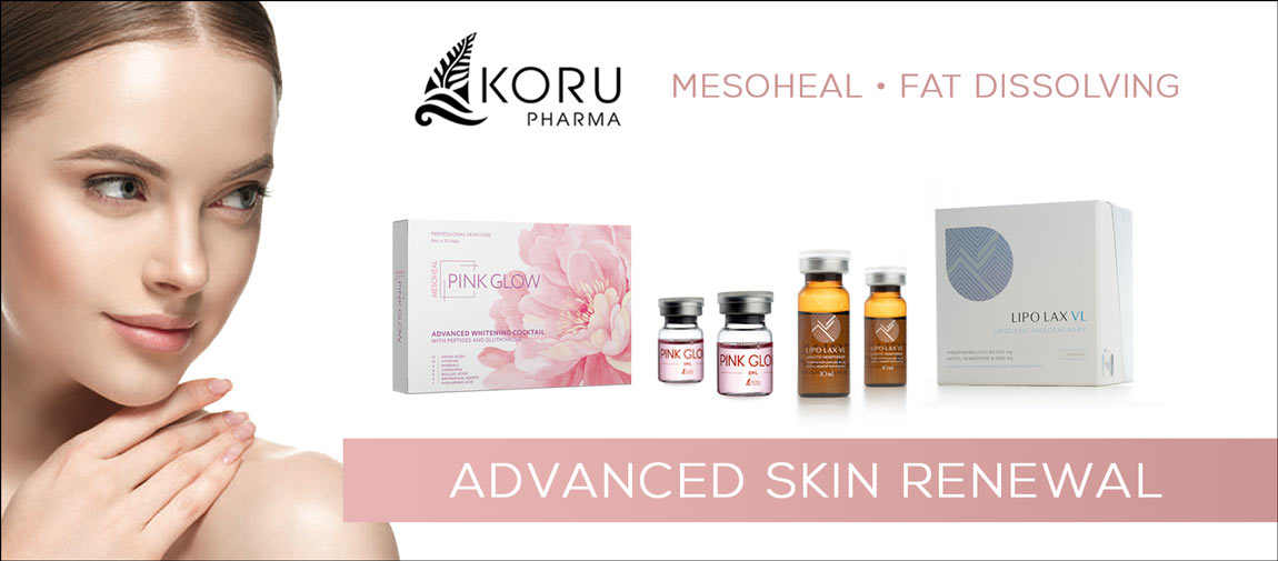koru pharma mesotherapy products