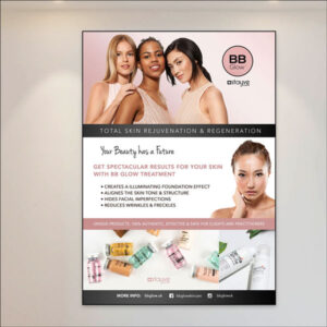 stayve BB glow products poster