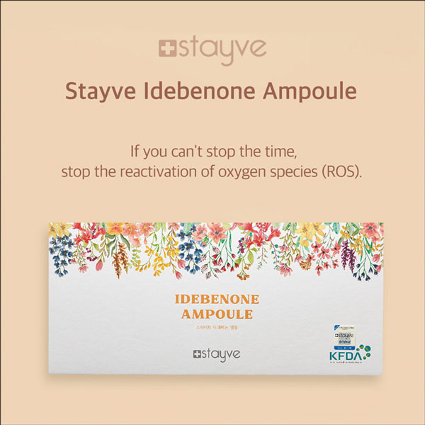Stayve Idebenone Booster Ampoule