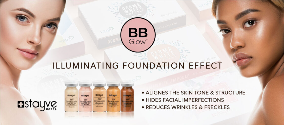 stayve BB glow ampoules
